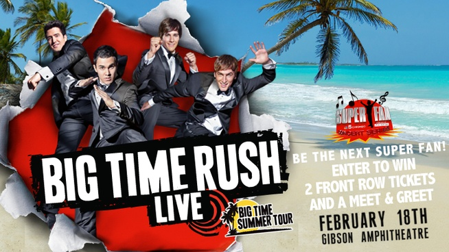 Big Time Rush Super Fan Concert Experience Contest