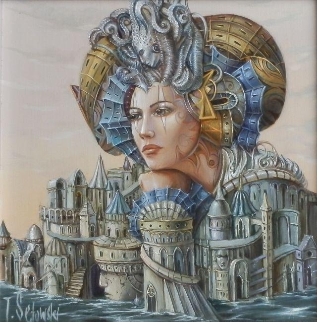 ArtGalery ° PERSONALART.PL tytuł: Melancholia autor: Tomasz Sętowski http://personalart.pl/Tomasz-Setowski