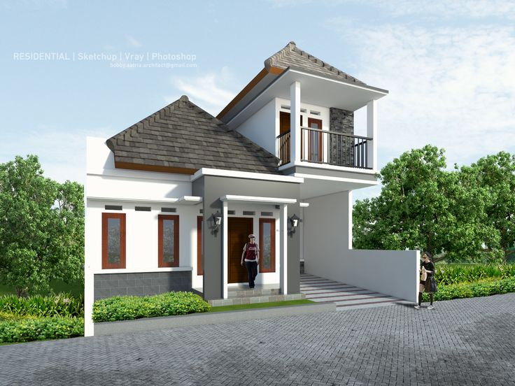 Mr Catur House   Design by Aditya Rahmadi Render & Visualization by me     Sketchup | vray | photoshop