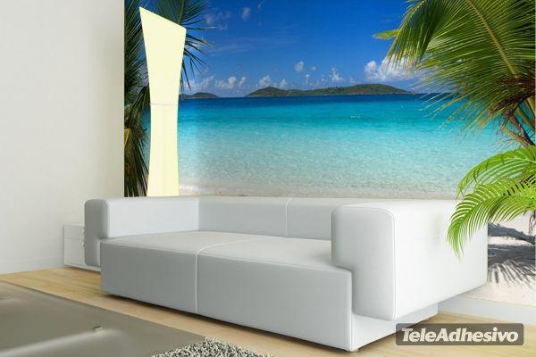 Fotomurales Playa Caribe