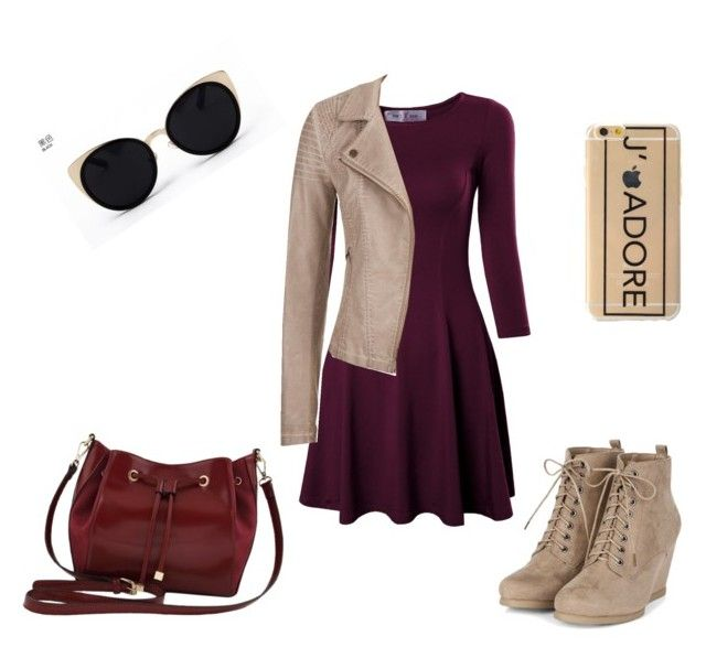 """""""Maroon"""" by lillian-o-huckaby on Polyvore featuring M&Co, maurices and Una-Home"""