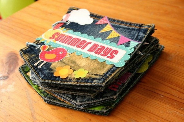 jeans pocket mini album