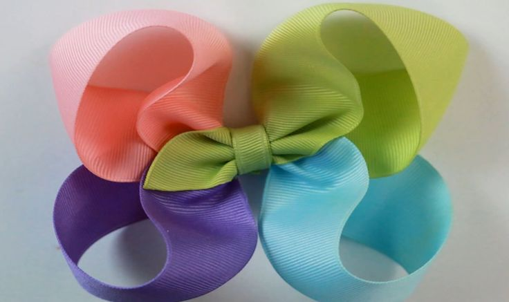 4 color Twisted Boutique bow tutorial HOW TO