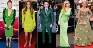 Feliz Saint Patrick's Day! Veja estrelas que apostam nos looks verdes - Neste domingo, 17, é comemorado o Saint Patrick's Day, ou Dia de São Patrício. Confira o que celebridades como Angelina Jolie, Gisele Bündchen, Robert Pattinson e Rihanna já usaram no tom considerado como a cor da sorte!