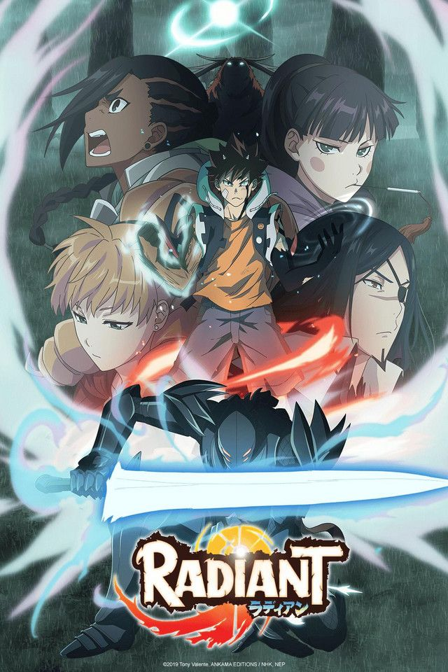 RADIANT Watch on Crunchyroll in 2020 Anime, Anime art