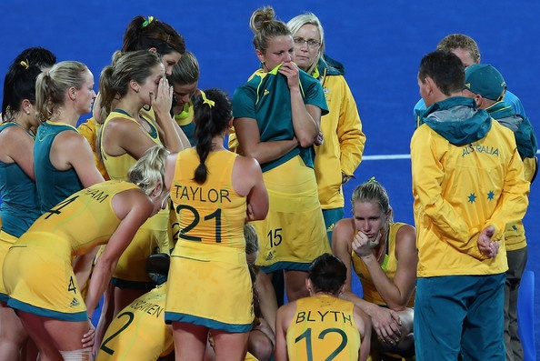Ashleigh Nelson Olympic Bulletin 6: Australia v Argentina