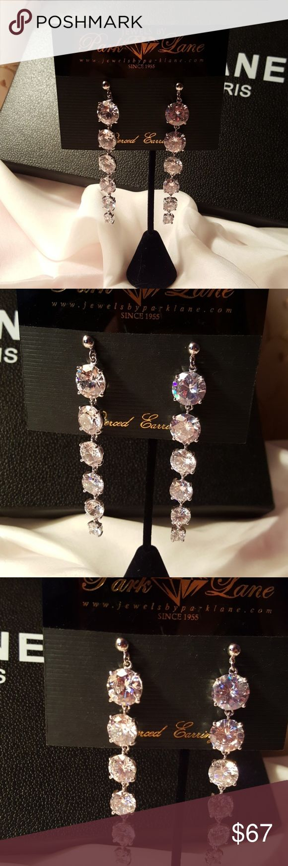 Park lane Kimberly CZ's earrings Kimberly  CZ's earrings Park Lane Jewelry Earrings