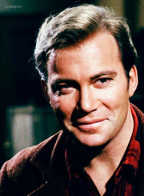 """William Shatner as Captain Kirk. Star Trek original series season 1 episode 28 - """"The City On The Edge Of Forever"""""""