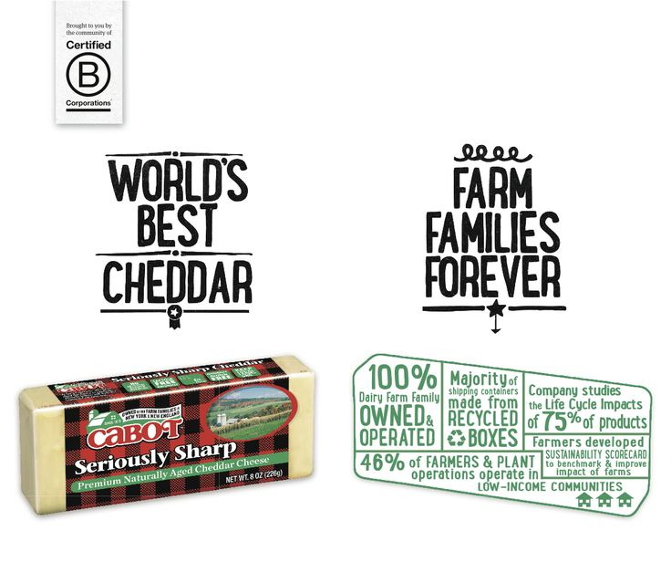 #BCorp @Mike Cabot Cheese