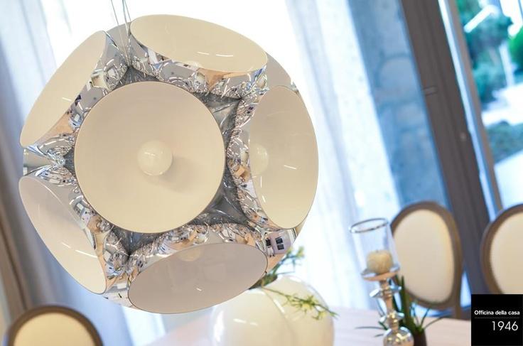 Cosa ne dite di questo lampadario? Vi piace?  Lo usereste nella vostra casa?