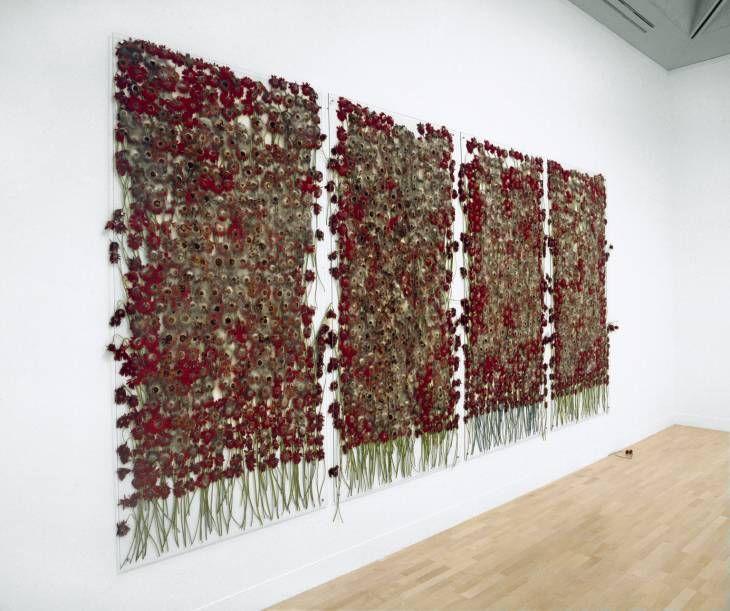 Anya Gallaccio 'preserve 'beauty'', 1991–2003 © Anya Gallaccio, courtesy Lehmann Maupin Gallery, New York