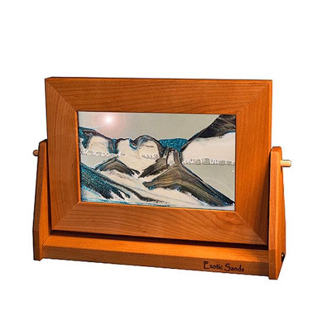 moving sand art small cherry frames 7 x 9 - Moving Picture Frames