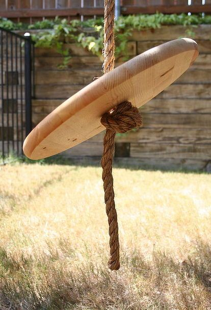 how to make a rope swing, diy, outdoor living