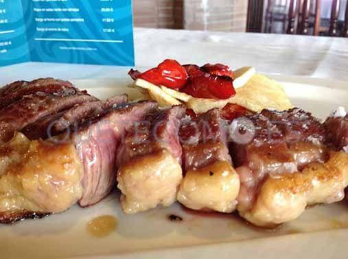 Entrécot de buey | Restaurante San Miguel en Ribadeo, Lugo