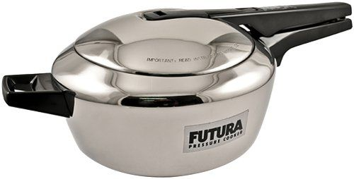 Futura Stainless Steel Pressure Cooker, 4.0 Litre