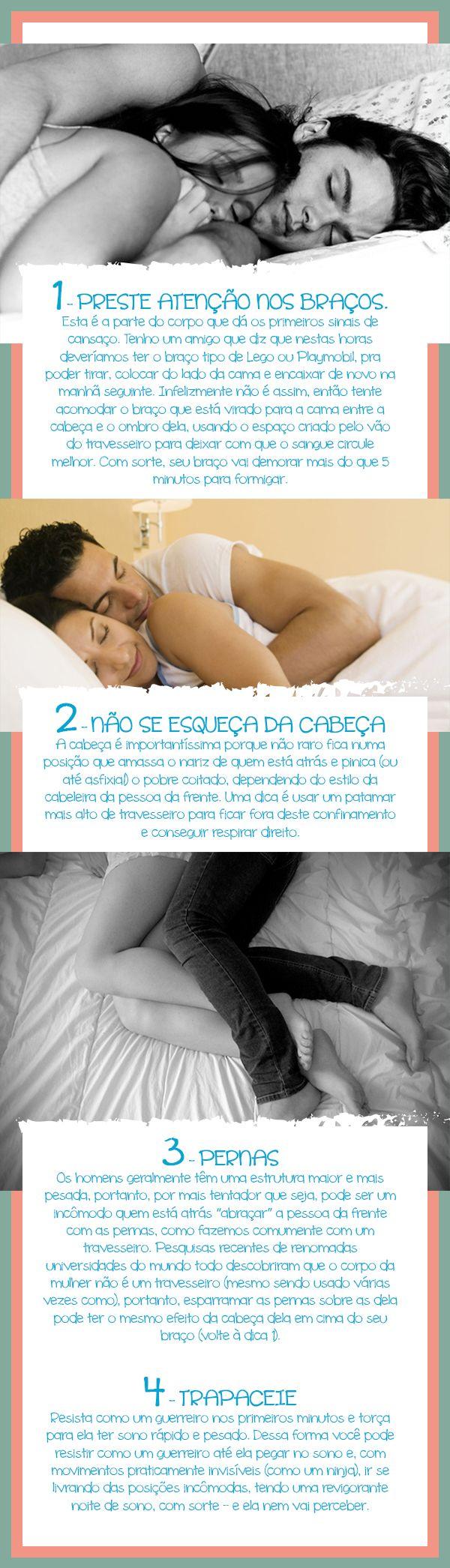 Dormir de conchinha - Bendita Inspiração #spooning #conchinha #dormir #romantico #amor