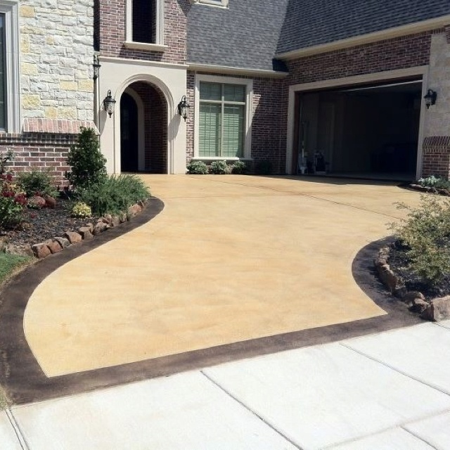 12 best driveway images on pinterest stained concrete driveway stained concrete driveway can i do similar to minimise width solutioingenieria Images