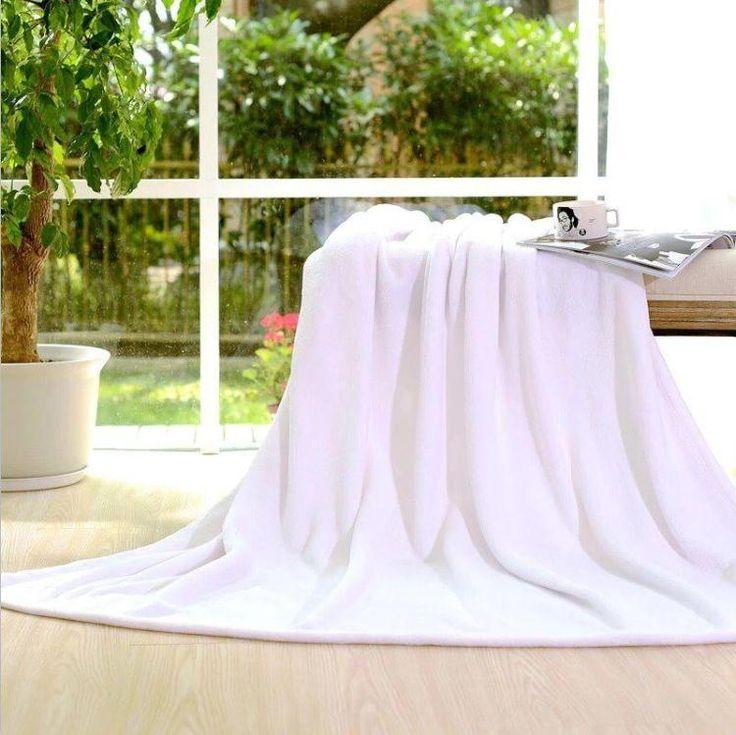 Дешевое Высокое качество белый одеяло коралловый флис одеяла фланелевые отель домой осень зима толщиной простыни, Купить Качество Одеяла непосредственно из китайских фирмах-поставщиках:   ДЕТАЛИ ПРОДУКТА