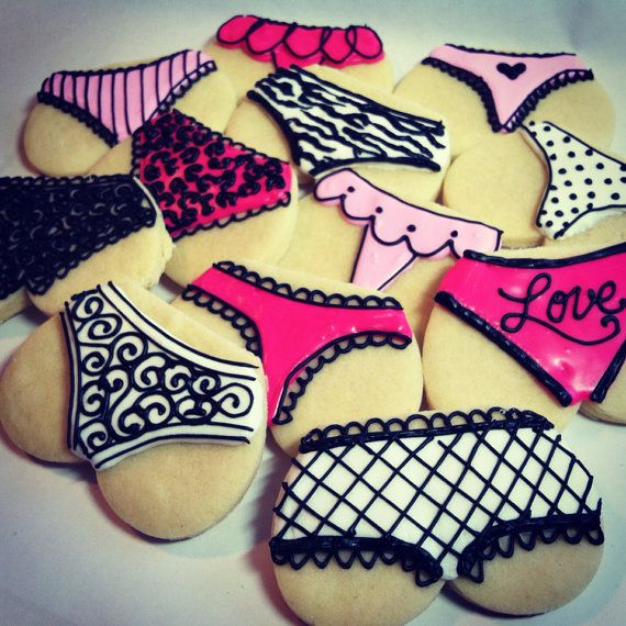 Lingerie Cookies, it never goes out of trend