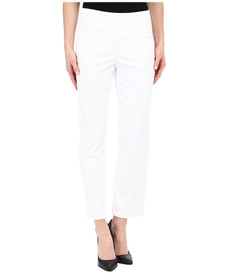 """Miraclebody Jeans Andie 28"""" Ankle Pull-On Pants White - 6pm.com"""