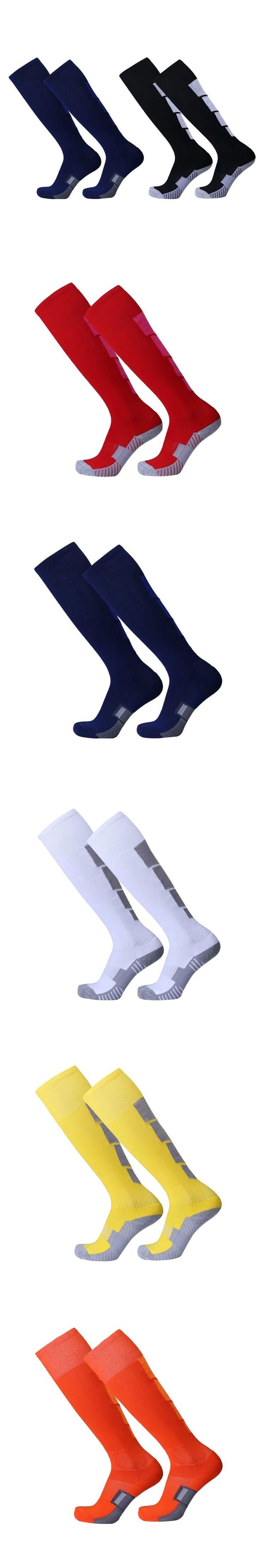 2017 Men Boys Cotton Comfortable Leg Compression Long Socks Stretch Relief Soft Socks Plain Over Knee High Sock