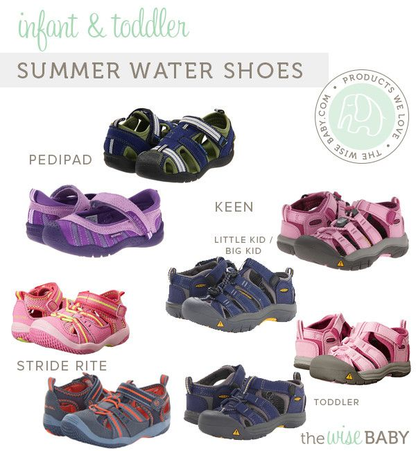 The best summer water shoes for your infant or toddler found!