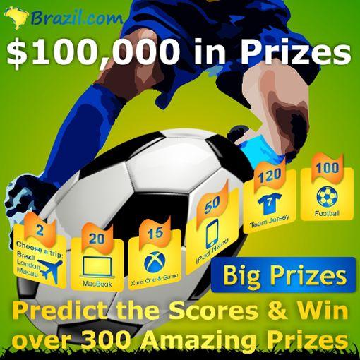 Kontes Piala Dunia 2014 Brazil.com Berhadiah USD100 Ribu