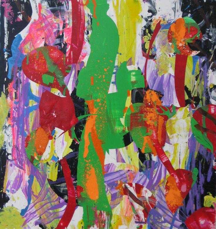 """Saatchi Art Artist: robert tavani; Acrylic 2013 Painting """"Sold"""""""