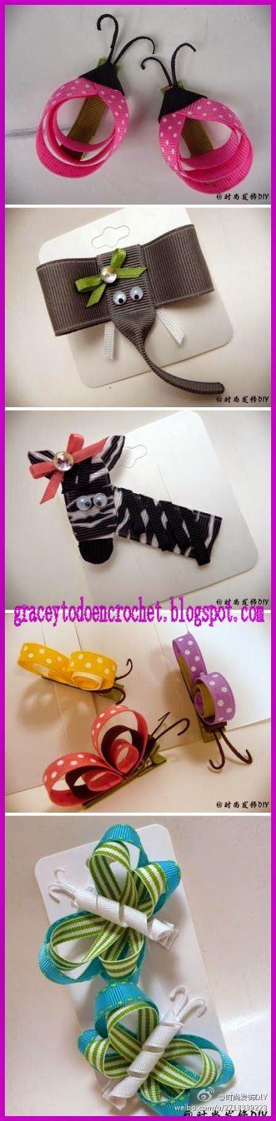 Grace y todo en Crochet: Ties perfect for Christmas...Lazos perfectos para estas navidades!