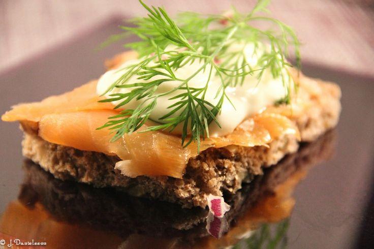 Påsktoast #påsktoast #påsk #toast #högtidsmat #lax #slankosund #salmon