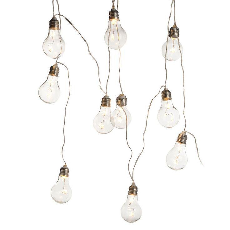 12 besten led gl hbirnenkette bilder auf pinterest kabel leuchtparty und lichter. Black Bedroom Furniture Sets. Home Design Ideas