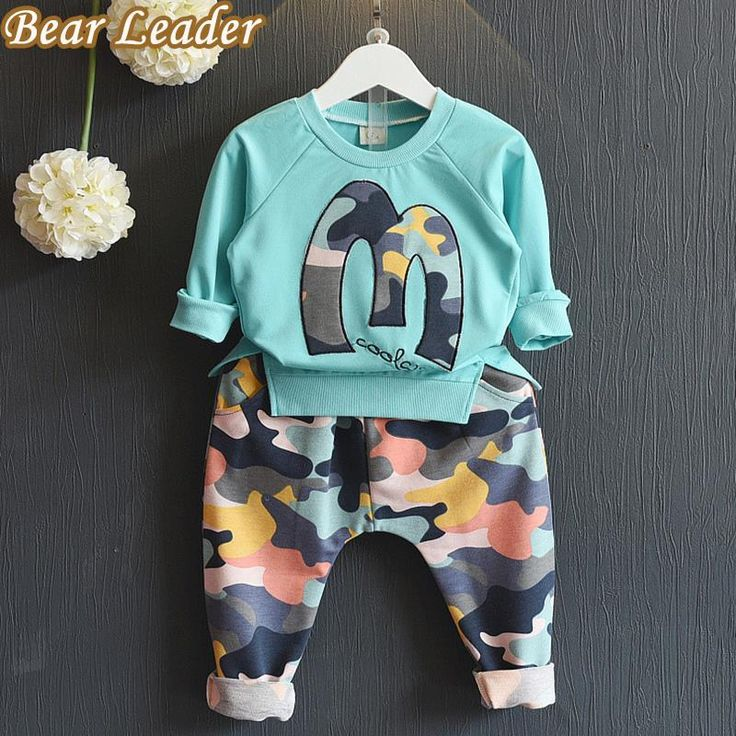 Kids Clothing Sets Winter Suits Girls Clothes Sweatshirts+Camouflage Pants 2pcs Camouflage sports suits $19.27 => Save up to 60% and Free Shipping => Order Now! #fashion #woman #shop #diy http://www.bbaby.net/product/bear-leader-kids-clothing-sets-2016-brand-winter-suits-girls-clothes-sweatshirtscamouflage-pants-2pcs-camouflage-sports-suits