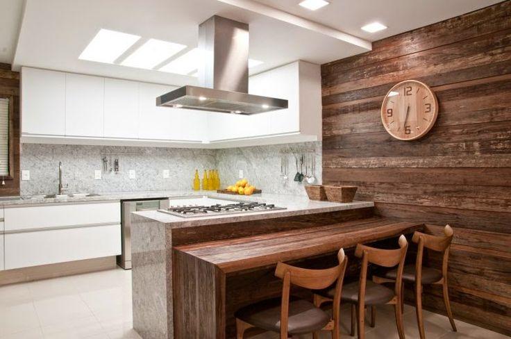 Mais de 1000 ideias sobre Design Para Cozinhas Modernas no Pinterest  Interi # Iluminacao De Cozinha Com Ilha
