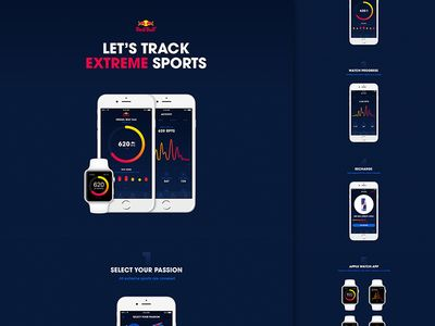 Red Points App on Behance
