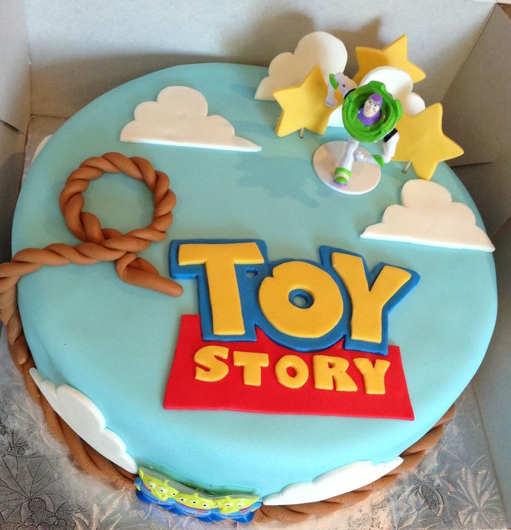 Toy story cake- Maybe with Carson's name on it