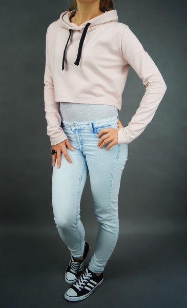 Bluza Pink Hood Shorty - lilyoodziez - Bluzy z kapturem