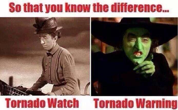 Oklahoma Tornado Meme