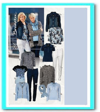 Gezien in de Libelle collectie Spring in Blue! Nu te koop bij Atelier Damesmode Shop 54 Scheldestraat 54 Vlissingen.
