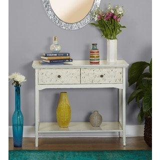 Shop for Simple Living Kira Console Table. Get free shipping at Overstock.com - Your Online Furniture Outlet Store! Get 5% in rewards with Club O! - 20655213