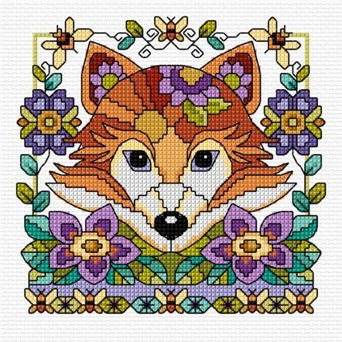 Foxy Lady Cross Stitch Chart Download | sewandso