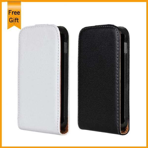 New Genuine Leather Vertical Flip Case cover For Samsung GT-S7500 S7500 Galaxy Ace Plus Magnetic Phone Bag Pouch Free Shipping