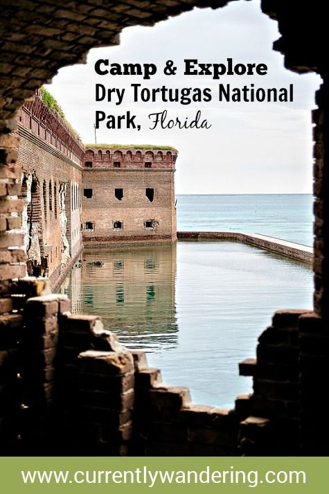 Want to visit a remote, beautiful island? Check out Dry Tortugas National Park! You can camp, explore, snorkel, and even earn a Jr. Ranger badge!