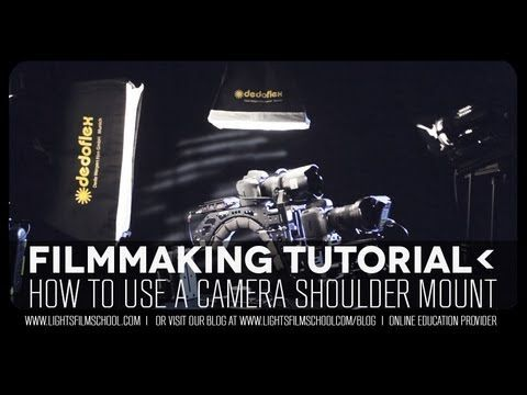 How to use a shoulder rig for your DSLR or video camera. To view more video tutorials visit our filmmaking blog at: http://www.lightsfilmschool.com/blog/ To learn more about cinemacanix visit their site at: http://www.cinemecanix.com/ Lights Online Film School is an online education provider offering filmmakers a chance to learn more about scr...