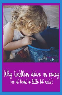 Some answers to the big question of why toddlers drive us crazy