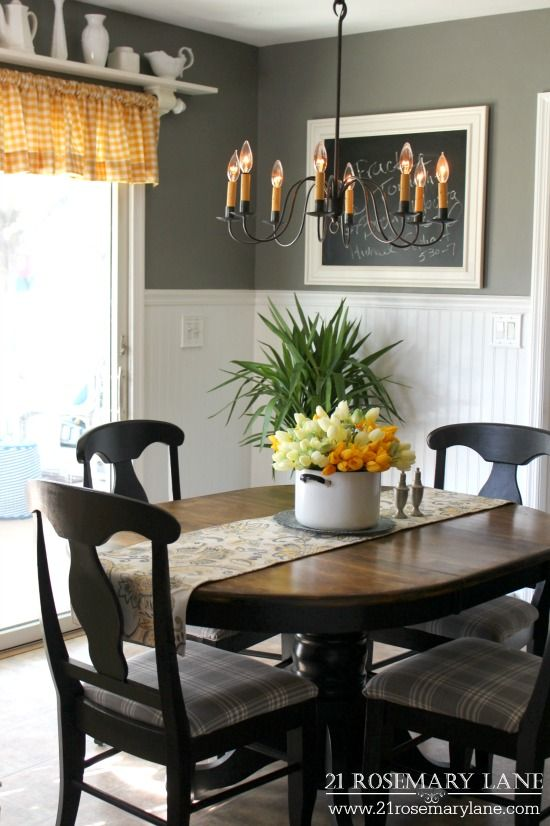 119 best Dining Room Ideas images on Pinterest   Cottage dining rooms,  Decorating ideas and Farm house