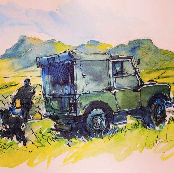 Land Rover Car Wallpaper: 1000+ Images About ART On Pinterest