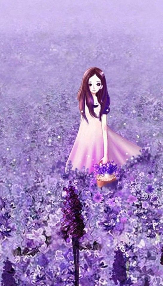 Download 46 Wallpaper Bunga Lavender Ungu HD Gratid