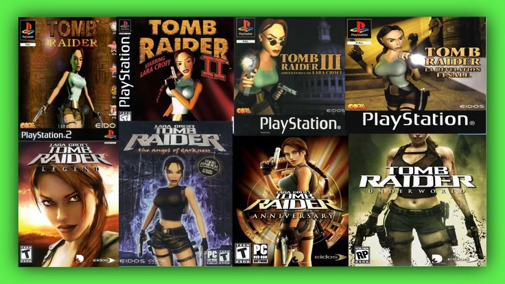 Tomb Raider All Games - Tomb Raider Game Series