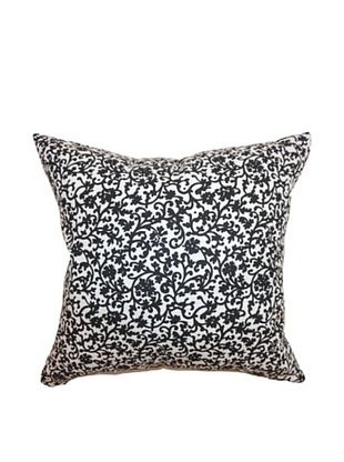 57% OFF The Pillow Collection Vappi Floral Pillow, Black/White