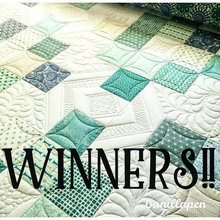 Congratulations to @therealdianagrimmer and @stamppedlr! You each have won a $100 gift certificate to be used toward longarm quilting! I am so excited to quilt for you!! Thank you friends and followers! You make my life brighter!!